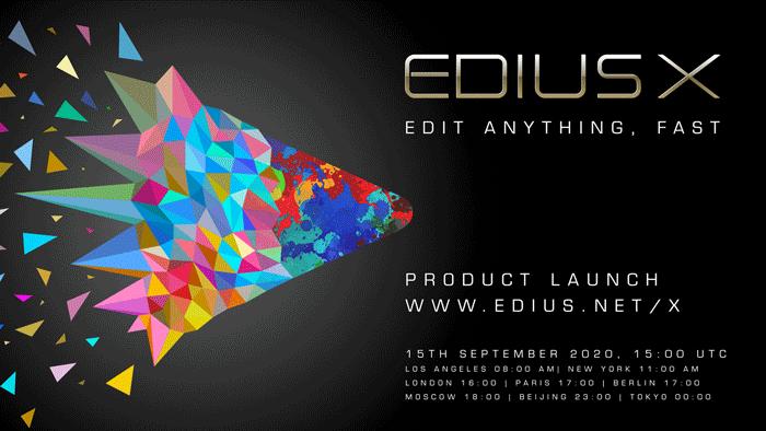 EDIUS-X-Product-Launch-HD-link