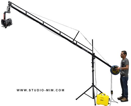 انواع حرکت دوربین - تیلت - پن - کرین - دالی