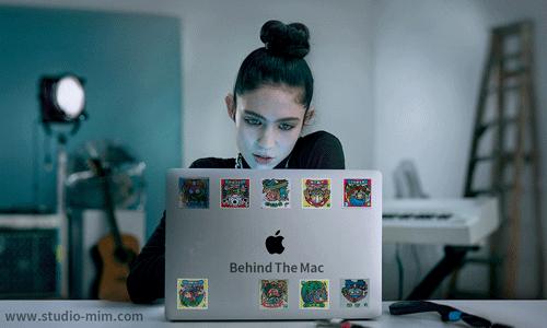 تیزر تبلیغاتی اپل Behind the Mac